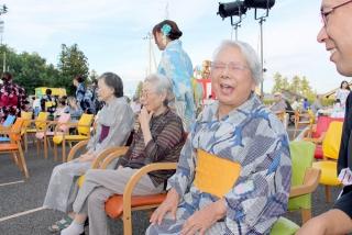 平成29年ライフケア黒森夏祭り。地域の皆様、ご家族の皆様よりご協力いただき、賑やかに開催することができました。