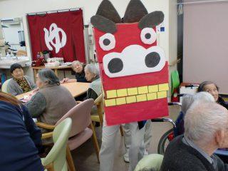 【特別養護老人ホーム】2017新年会の様子
