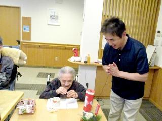 【小規模特別養護老人ホーム】笑顔いっぱいの、楽しく穏やかな新年を祝う会となりました