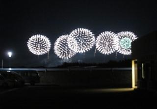 【小規模特養】酒田花火ショー2018を観覧しました。